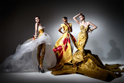 """Haute Couture by DHL"""
