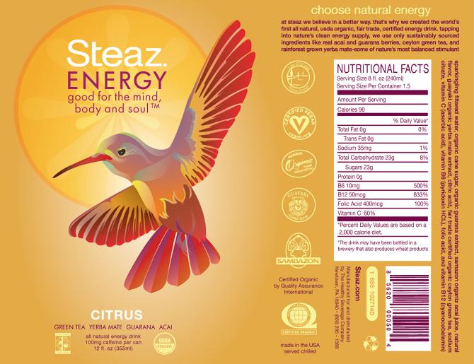 Steaz Energy Drinks Samanthasayshellos