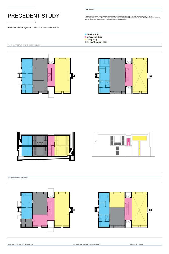 Esherick House Analysis - Harry Chadha