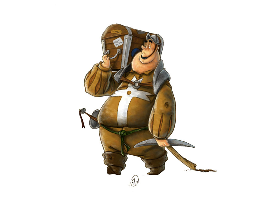 Character Design Vimeo : Ratte florian