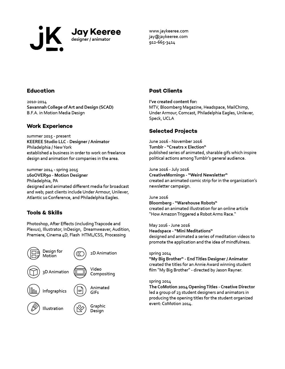 resume jay keeree resume pdf version